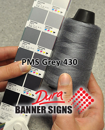 PMS Grey 430 Sewing Color