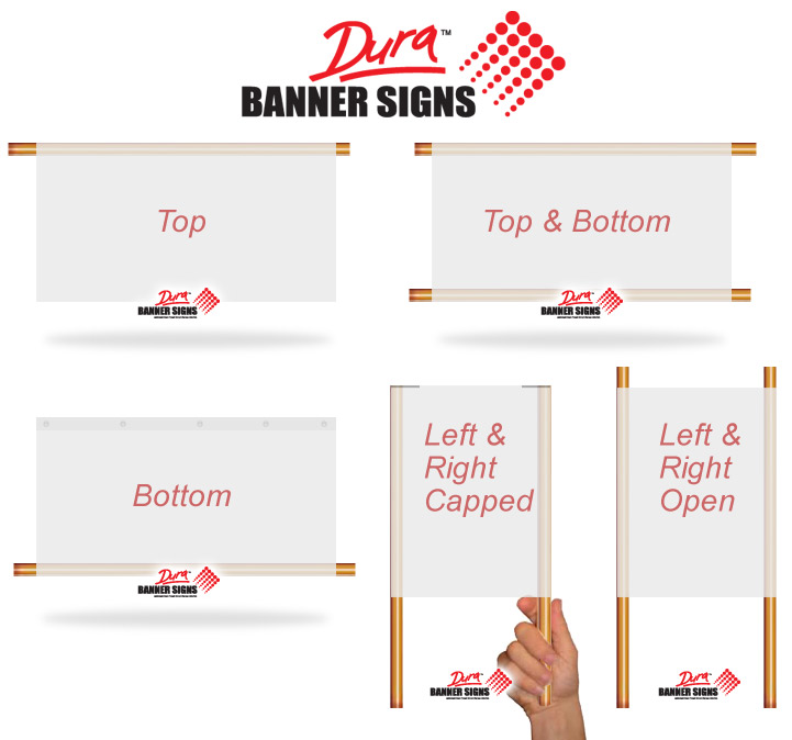 Pole Pockets Sleeves - Vinyl banners with pole pocketssignbanner printing